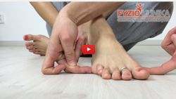 Foot Supportive points