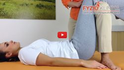 Traction of the lumbar spine