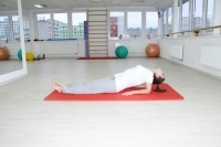 Yoga fish pose - Matsyasana