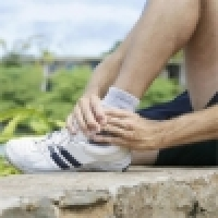 Modern treatment and physiotherapy of sprained ankle