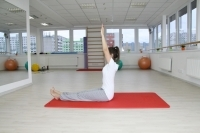 Yoga staff pose - Dandasana