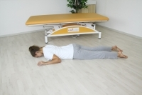 Brunkow -  Plank from lying on the stomach to a sitting in a tilted position
