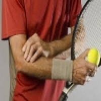 Tennis elbow and javelin thrower's elbow - treatment