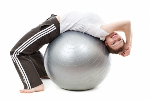 Exercises against pain with exercising tools